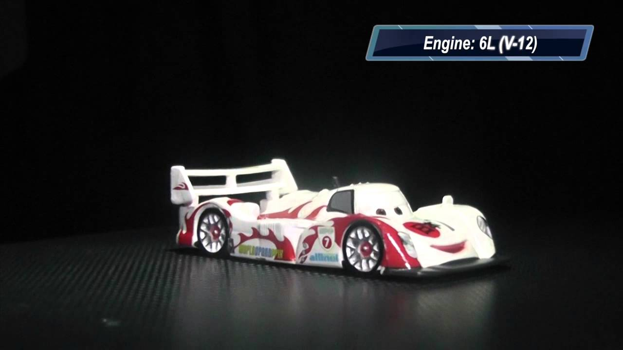 2013 - Disney's Cars 2 - Shu Todoroki (Lightning McQueen ...