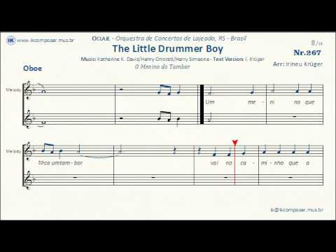267 - The Little Drummer Boy - ( Oboe )