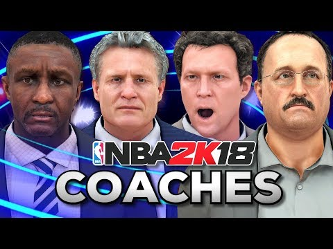All 30 Coaches in NBA2K18