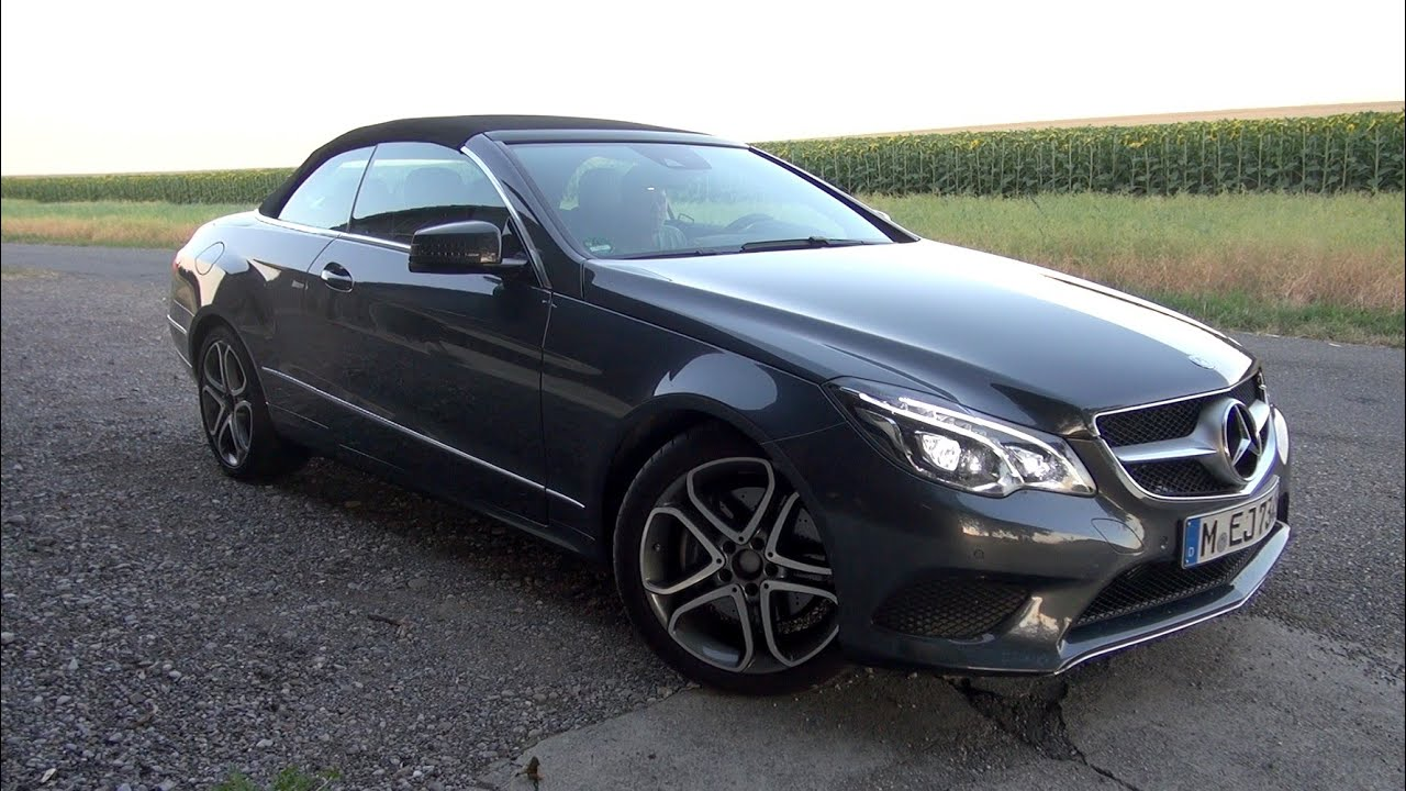 2015 mercedes e 350 cdi 9g tronic cabrio 258 hp test. Black Bedroom Furniture Sets. Home Design Ideas