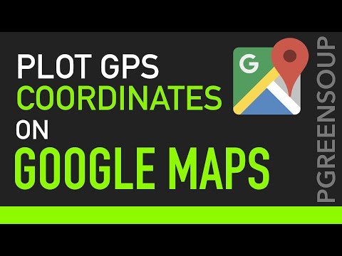 Plot a GPS Location on a Google Map My Map