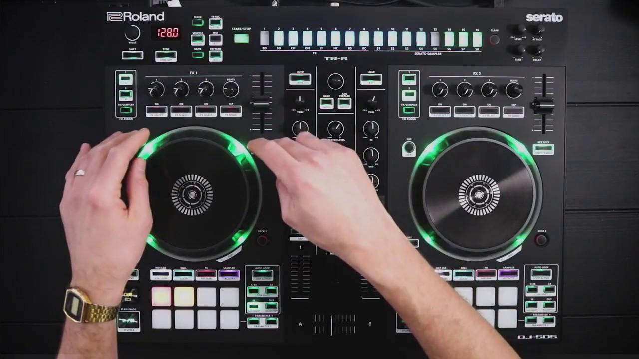 Roland DJ-505 Controller Firmware Update