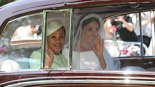Meghan Markle's wedding dress: the first glimpse