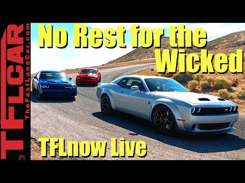 Most Powerful Hellcat Ever! All About the 2019 Dodge Challenger - TFLnow Live #34