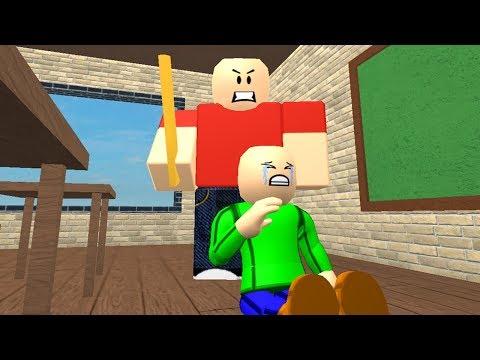 Baldi's Childhood (Sad Roblox Animation)