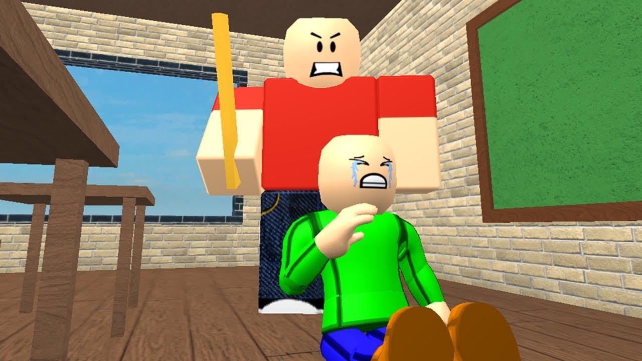 Baldi S Childhood Sad Roblox Animation Youtube