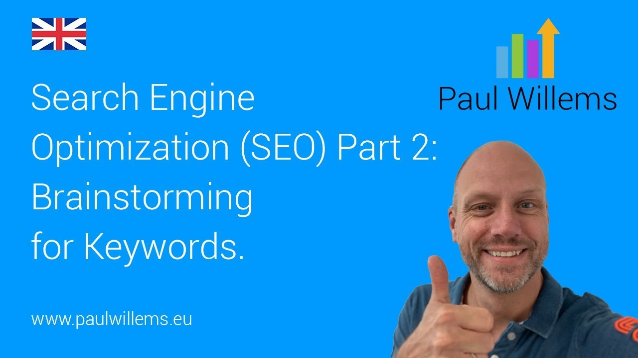 Search Engine Optimization (SEO) Part 2: Brainstorming for keywords