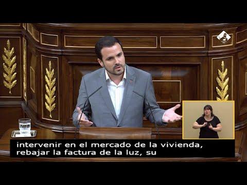 Garzón reprocha a Sánchez el veto a Iglesias