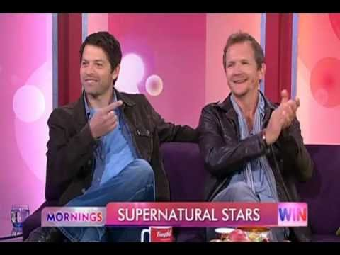 Mornings Interview with Misha Collins and Sebastian Roche