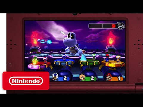 Mario Party: Star Rush - Main Modes Game Trailer