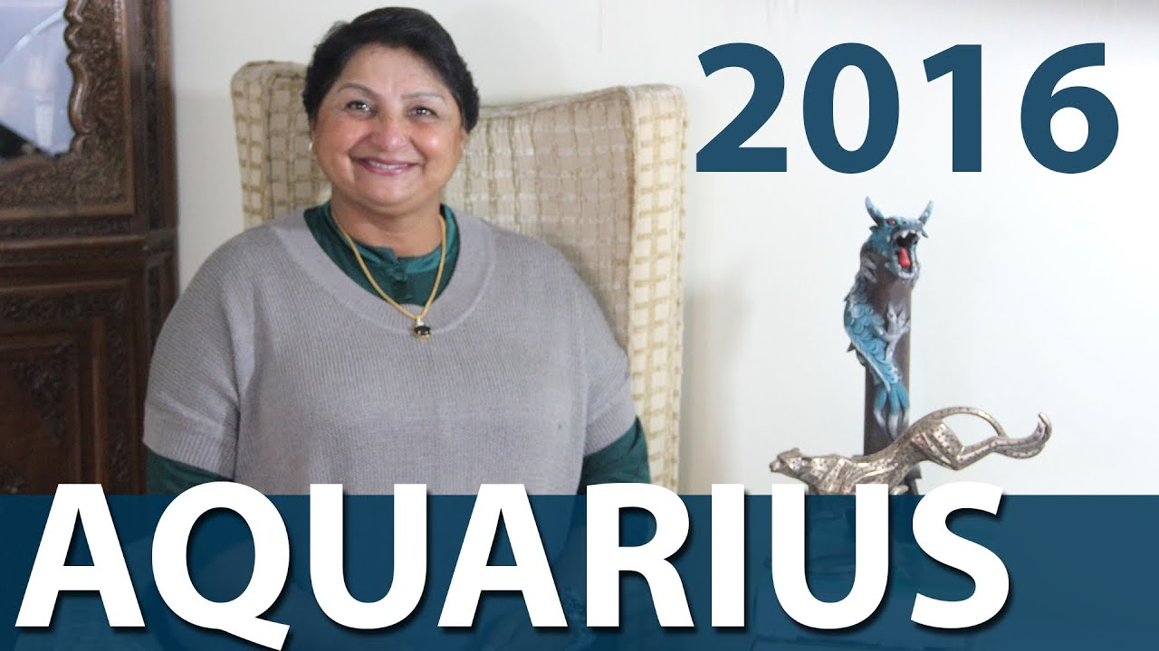 4c6f5264d Aquarius 2016 Yearly Horoscope And Trends - YouTube