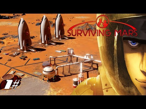 Surviving Mars Starting a new Colony - Power Water and Oxygen! | Let's Play Surviving Mars Gameplay
