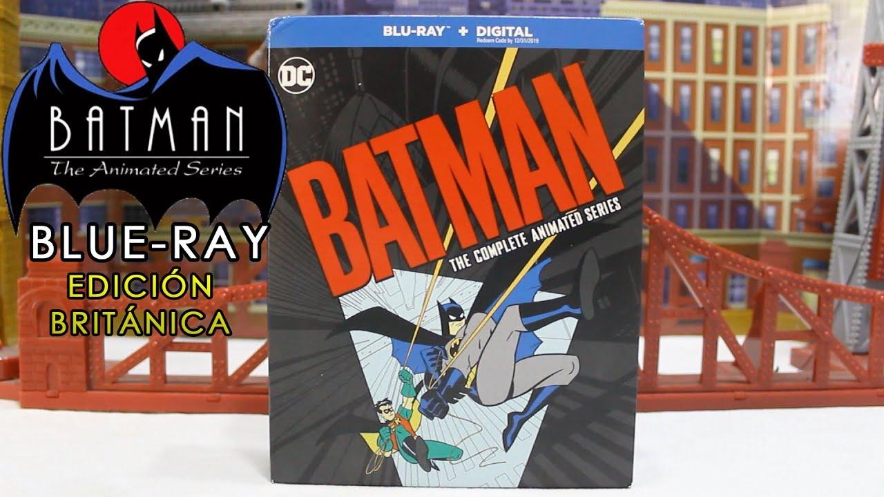 Español Blu Ray Batman Serie Animada Completa Edición Británica Reseña Review Youtube