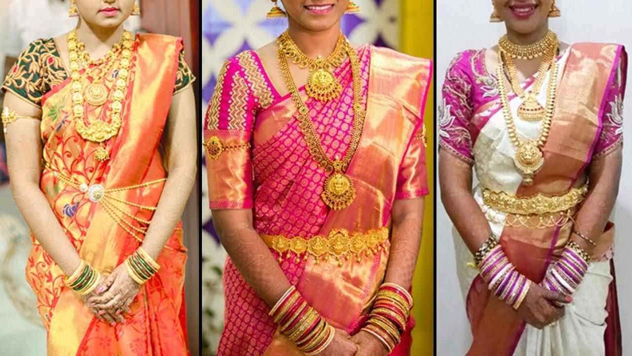 8e2cd1baf4 Kanchipuram bridal silk saree best price | 2019 Exclusive Wedding Saree  Collection