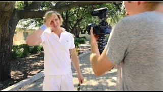 A Logan Paul Vlog - BEHIND THE SCENES!!