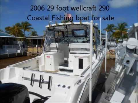 2006 29 foot wellcraft 290 Coastal Fishing boat for sale ...
