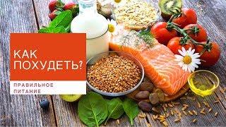 Правильное питание: основные принципы и правила похудения