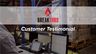 Breakthru Beverage Illinois | AS/RS | Customer Testimonial