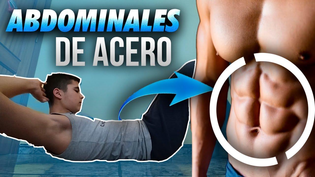 rutina de abdomen en casa hombres
