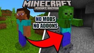 cara berubah menjadi mob apa saja di minecraft pocket edition no mods