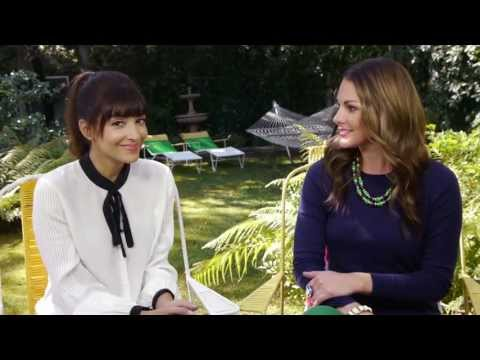 Hannah Simone Chats about Dating & Life Before New Girl  Girl Crush
