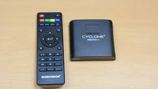 Sumvision Cyclone Micro 4 1080P Wifi Micro Media Player with Extras Demo and Review.