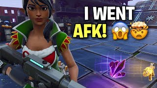 Going AFK while trading my Modded Gravedigger! 😱 (Scammer Get Scammed) Fortnite Save The World