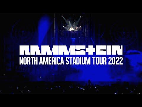 Rammstein - North America Stadium Tour 2022 (on sale May 28)