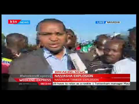 Weekend Express: 40 people confirmed dead after a Tanker Explosion in Naivasha, 11th Dec 2016