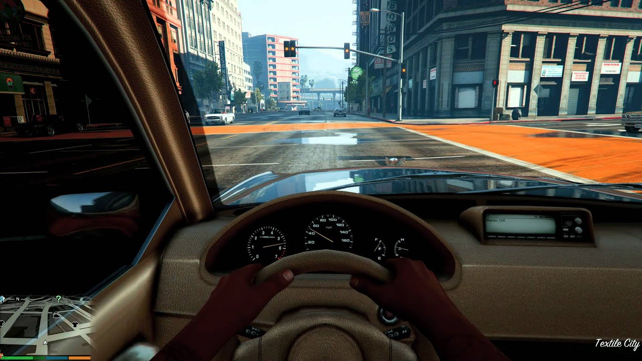 GTA V 4k max setting and ULTRA Realistic graphics Mods