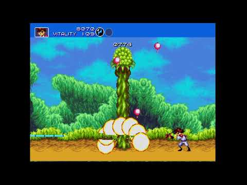 Gunstar Heroes Megadrive Xbox One Gameplay Sega Genesis Classics thumbnail