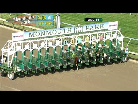 video thumbnail for MONMOUTH PARK 09-27-20 RACE 5