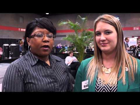 Erica Howard of Shreveport Bossier CTB at Select Traveler 2015