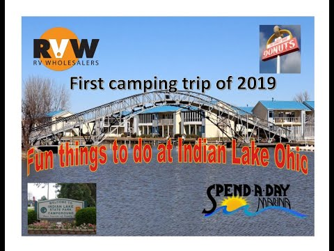 Indian Lake State Park Ohio First Camping Trip Of 2019
