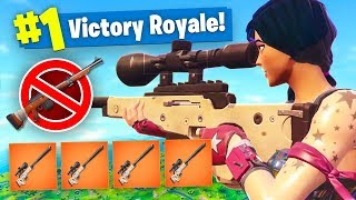 BOLT ACTION SNIPER ONLY CHALLENGE in Fortnite