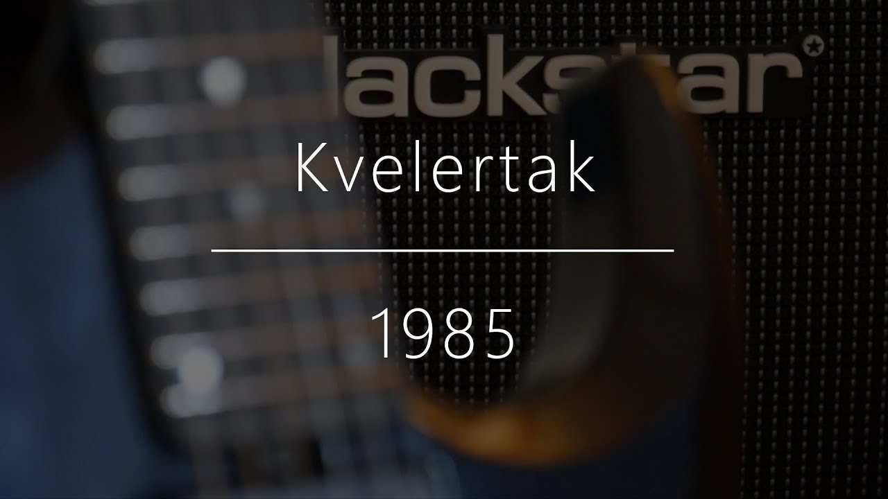 Kvelertak-1985 (guitar cover) - YouTube