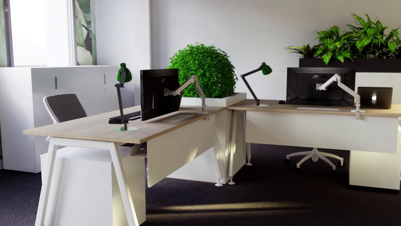 Visite Realite Virtuelle 3d Architecture D Interieur Bureau
