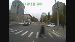 Алчевск. Троллейбусный Маршрут 6, октября 2012