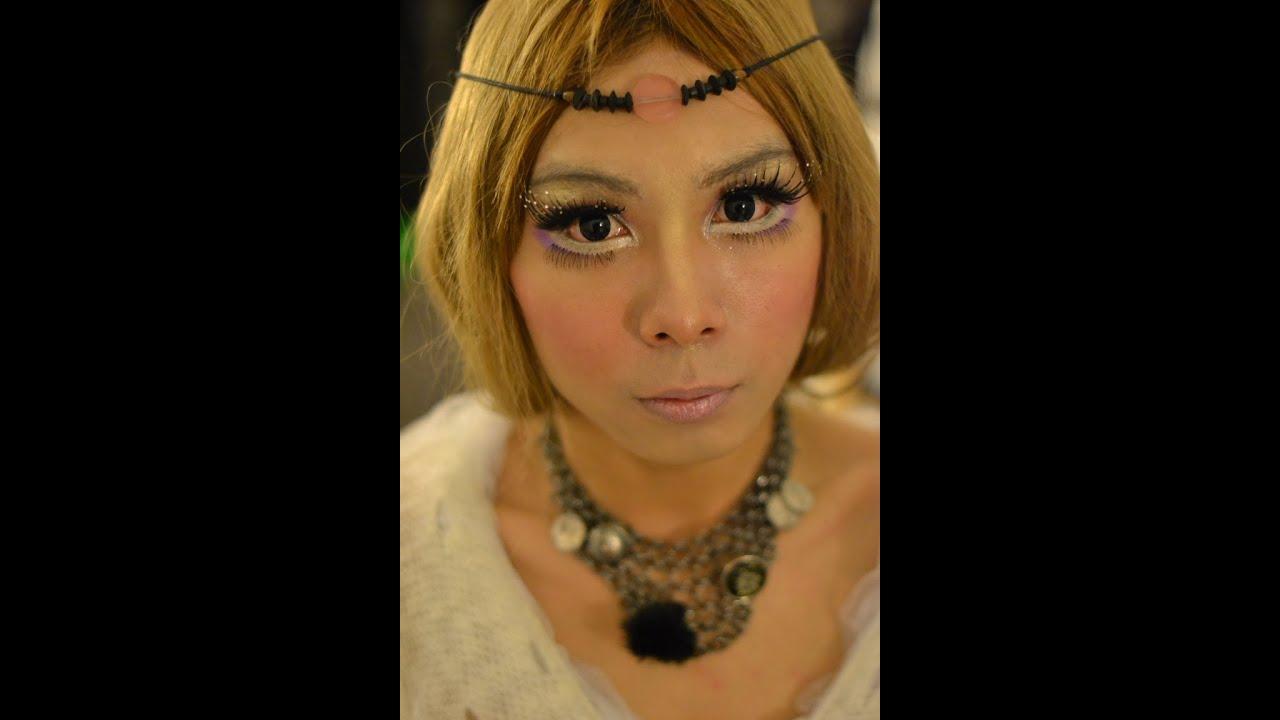 Boy To Girl Transformation Bohemian Makeup 波希米亚妆