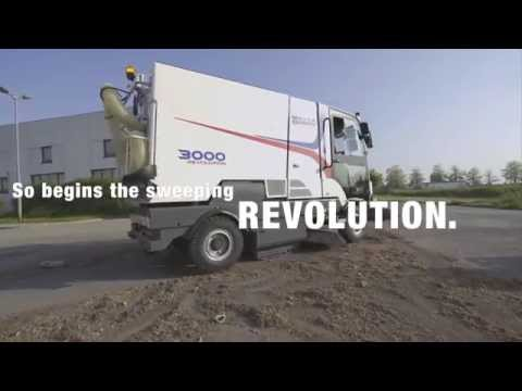 Dulevo 3000 REVOLUTION | Municipal and Severe Environment Street Sweeper | Bortek Industries, Inc.