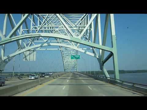 Crossing Bridge in Memphis, Tn.