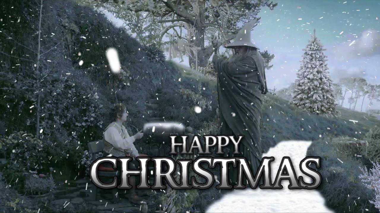 The Hobbit: Christmas comes to Middle - Earth | Christmas Greeting ...