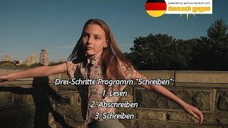 Deutsch B1 Test / Prüfung: Schreiben (A1 - B2) lernen in 3 Schritten