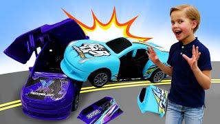 Лучшие видео мальчикам - Новые машинки Crash Fest! - Игры в гонки на машинах.