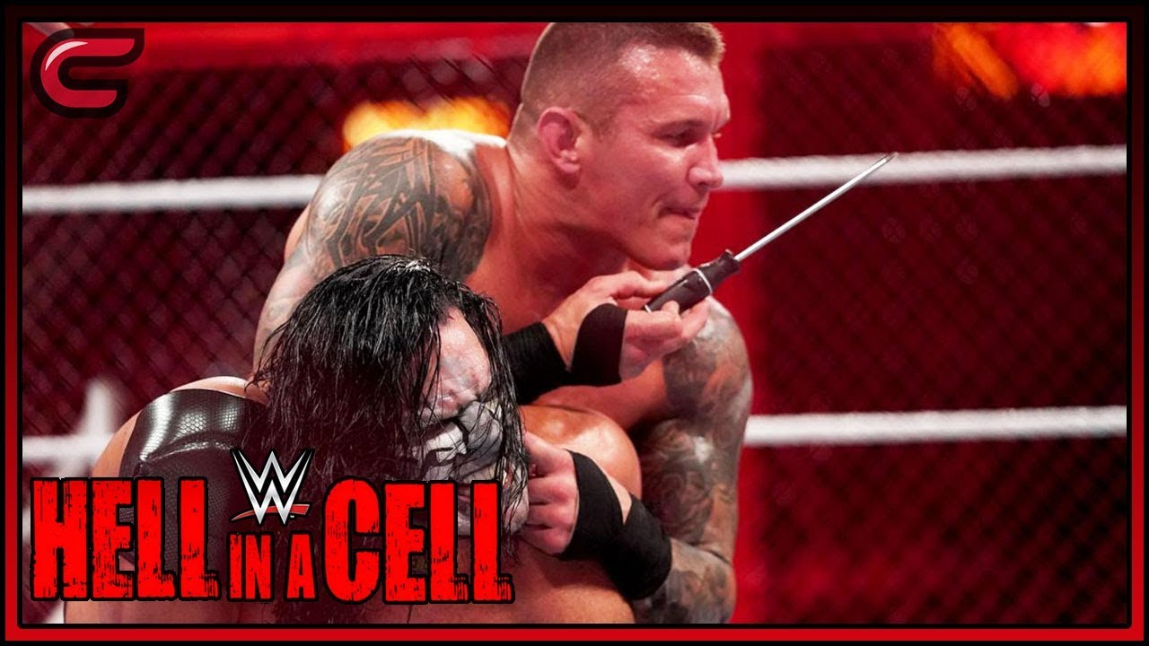 randy-orton-almost-rips-jeff-hardy-s-ear-off-hell-in-a-cell-live-9-17-18-reaction