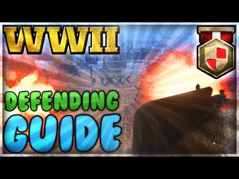 CoD WW2: Operation Neptune War Mode - Tips / Guide (Defending)