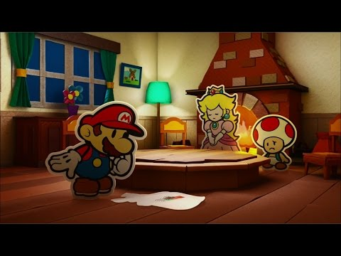Paper Mario: Color Splash Playthrough Part 1