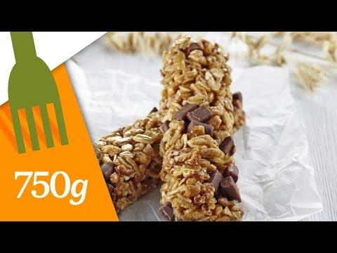 Recette de Barres de céréales maison - 750 Grammes