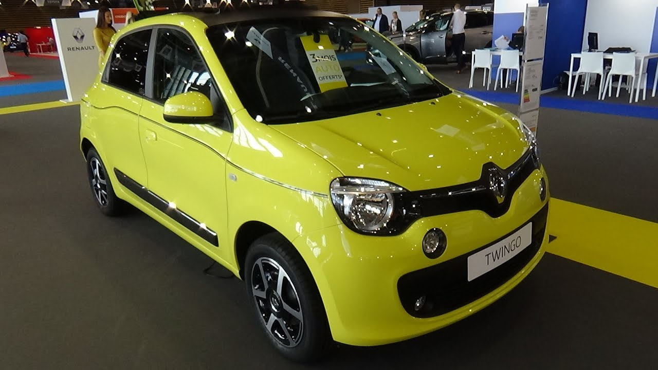 2018 renault twingo intens energy tce 90 exterior and interior salon automobile lyon 2017. Black Bedroom Furniture Sets. Home Design Ideas