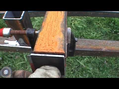 Comment faire une pergola en métal - épisode 3